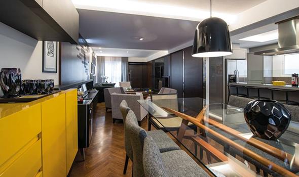 Apartamento personalizado e estiloso em Curitiba